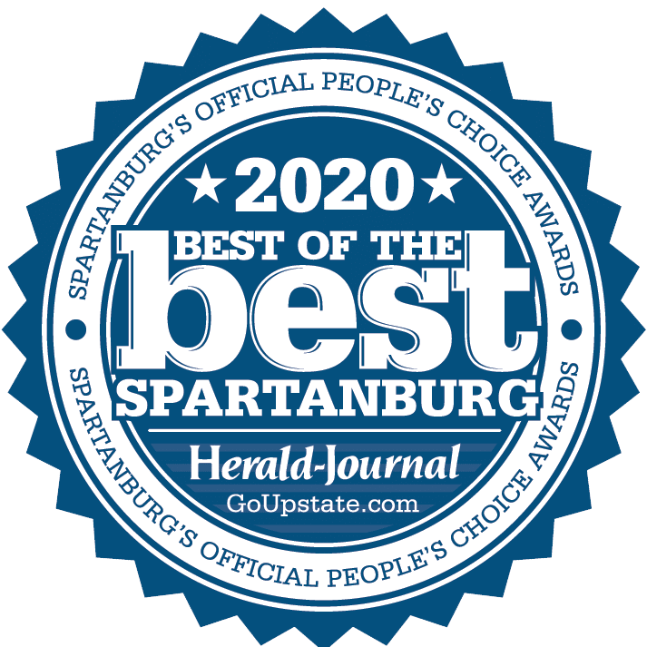 2020 Best of the best spartanburg's official peoples choice award by herald journal